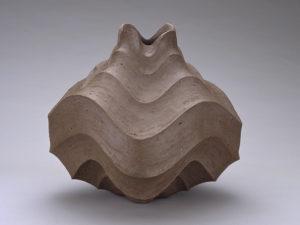 森陶岳《條文壺》平成2(1990)年