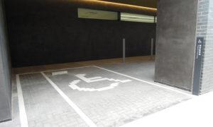 車椅子利用者専用駐車場